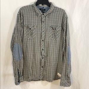 Akoo Men's Button Up Shirt